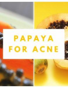13 Best Papaya Remedies To Cure Acne