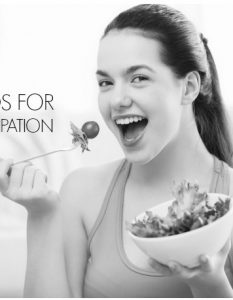 Best Foods to Relieve Constipation