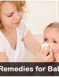 Home Remedies for Baby Cold - 12 Methods