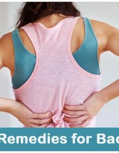 Home Remedies for Back Pain - 11 Methods