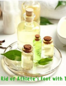 How To Cure Athlete's Foot With Tea Tree Oil