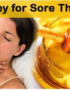 How To Cure Sore Throat With Honey
