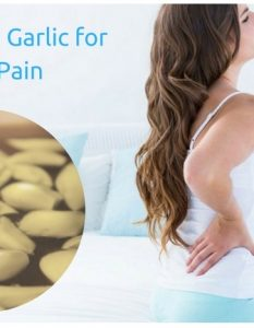 How To Get Relief From Back Pain with Garlic 9 Methods