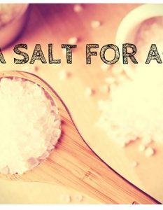 How To Treat Acne Quickly With Sea Salt (No. 1 and 3 are best)