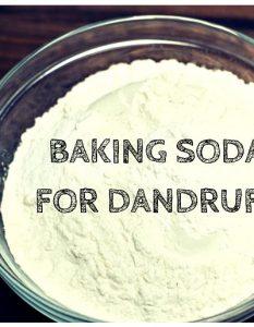 How To Use Baking Soda For Dandruff -11 Ways