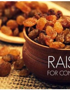 How To Use Raisins for Constipation