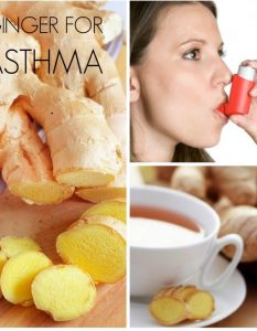 How to Treat Asthma with Ginger at home