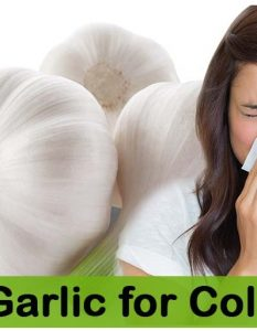 How to Use Garlic to Treat Cold
