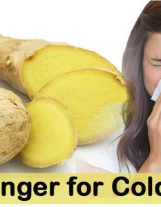 How to Use Ginger for Cold