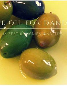 Olive Oil For Hair Dandruff