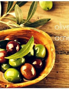 Use Olive Oil To Get Rid Of Acne Scars