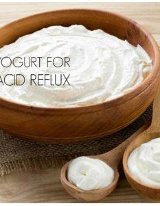 Yogurt For Acid Reflux