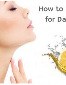 How TO Get Rid Of Dark Neck Using Lemon