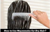 Mayonnaise for Dry Hair