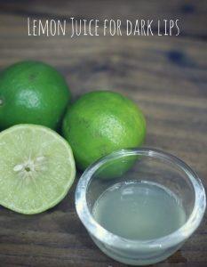Lighten Dark Lips With Lemon - 12 Methods